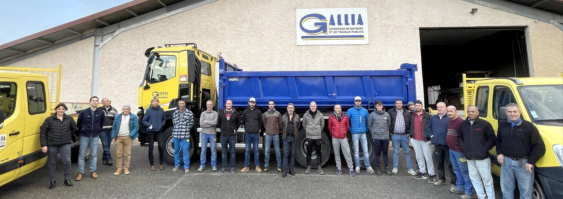 l'équipe Gallia